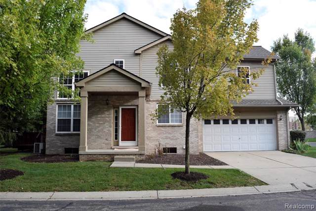 1596 Heron Circle, Canton Twp, MI 48187 (#219091302) :: Alan Brown Group