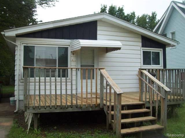78 E Yale Avenue, Pontiac, MI 48340 (#219091322) :: The Buckley Jolley Real Estate Team