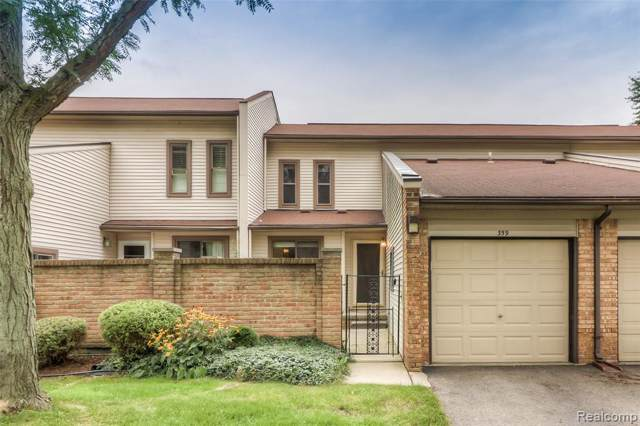 359 Willow Grove Lane, Rochester Hills, MI 48307 (#219091376) :: The Buckley Jolley Real Estate Team