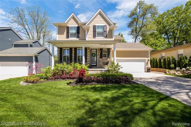 872 N Center Street, Northville, MI 48167 (#219091890) :: The Buckley Jolley Real Estate Team