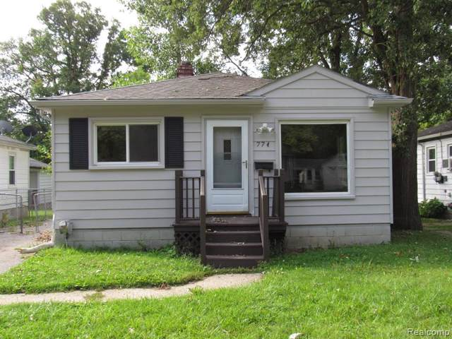 774 E Beverly Avenue, Pontiac, MI 48340 (#219092131) :: The Alex Nugent Team | Real Estate One