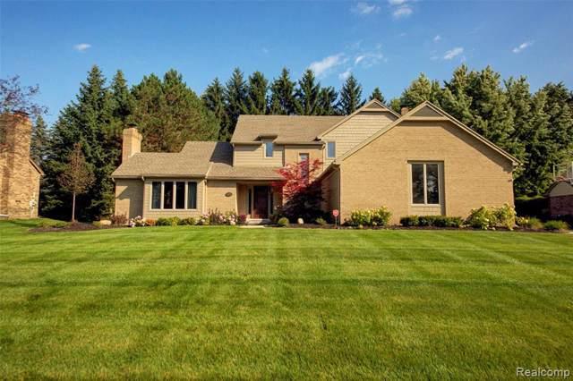 45990 Greenridge Drive, Northville Twp, MI 48167 (#219092225) :: GK Real Estate Team