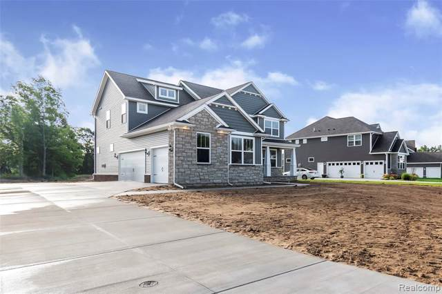 7549 Summer Breeze Trail (Homesite 78), Oceola Twp, MI 48843 (#219092249) :: The Alex Nugent Team | Real Estate One