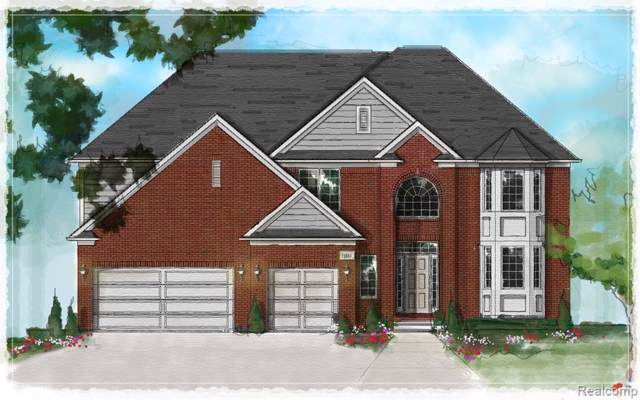 5973 Ashwood Drive, Troy, MI 48085 (#219092322) :: The Mulvihill Group