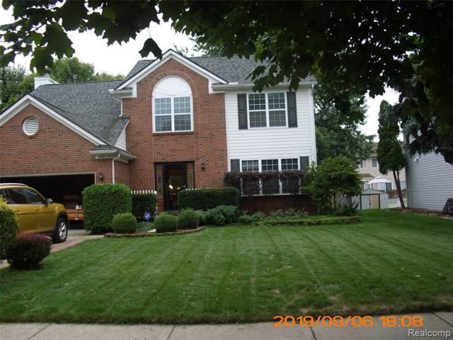 42847 Berkdale Drive, Van Buren Twp, MI 48111 (#219092740) :: The Buckley Jolley Real Estate Team
