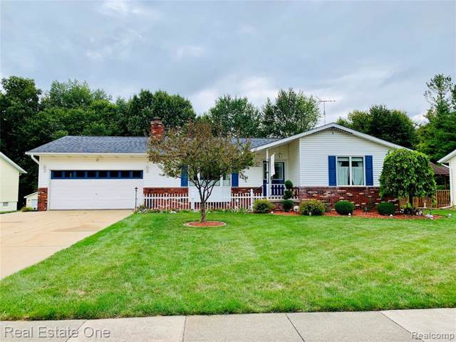 254 W Winds Drive, Almont Vlg, MI 48003 (MLS #219093024) :: The John Wentworth Group