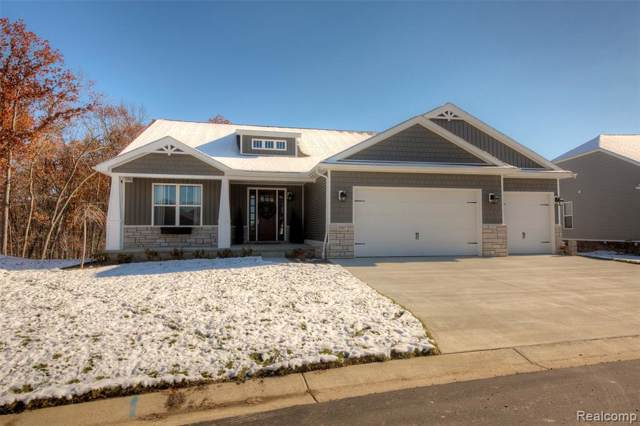 7627 Bent Grass Trail (Homesite 79), Oceola Twp, MI 48843 (#219093383) :: The Mulvihill Group