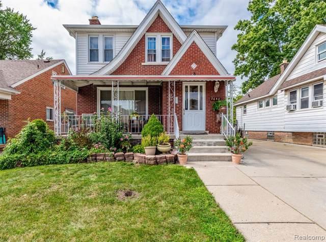 7643 Steadman Street, Dearborn, MI 48126 (#219093408) :: The Buckley Jolley Real Estate Team