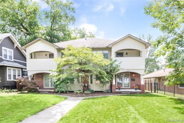 802 E Lincoln Avenue, Royal Oak, MI 48067 (#219093422) :: The Buckley Jolley Real Estate Team