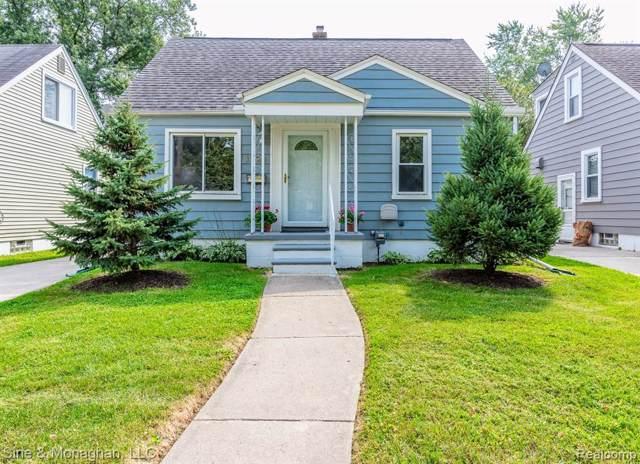 1220 Bauman Avenue, Royal Oak, MI 48073 (#219093585) :: The Buckley Jolley Real Estate Team