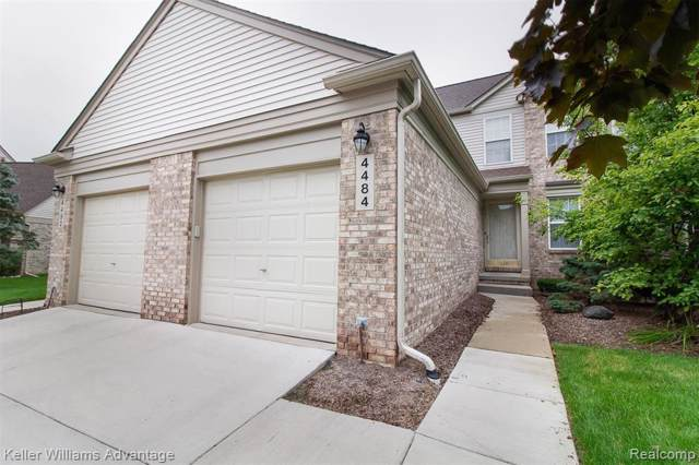 4484 Hunters Circle E, Canton Twp, MI 48188 (#219093646) :: The Buckley Jolley Real Estate Team