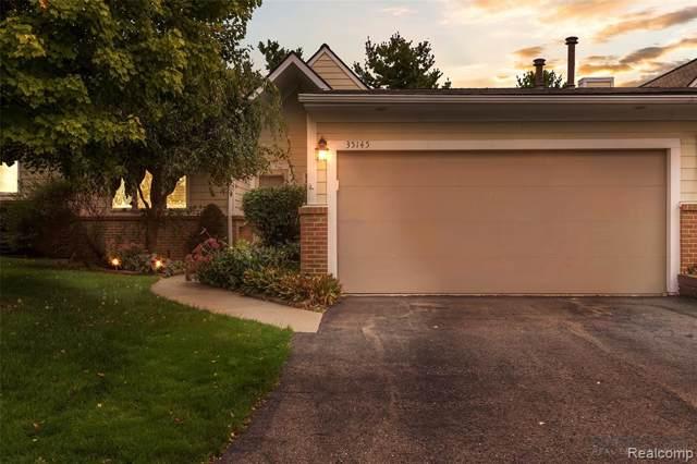 35145 Hillside Drive, Farmington Hills, MI 48335 (#219093812) :: The Buckley Jolley Real Estate Team