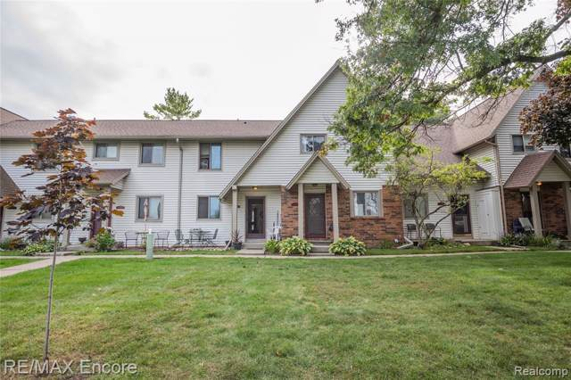 7310 Bluewater Drive #118, Springfield Twp, MI 48348 (#219094054) :: The Alex Nugent Team | Real Estate One