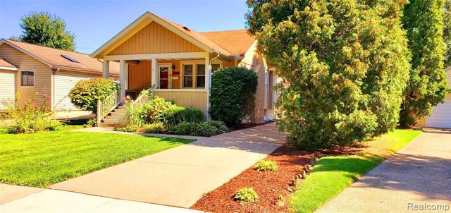3216 Garden Avenue, Royal Oak, MI 48073 (#219094194) :: The Alex Nugent Team | Real Estate One