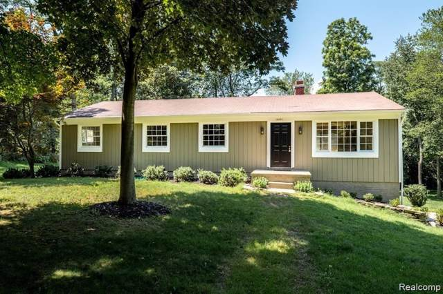 16393 Franklin Road, Northville, MI 48168 (MLS #219094707) :: The Toth Team