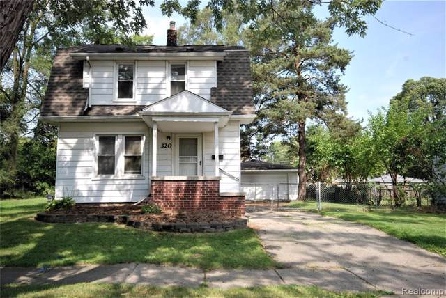 320 W Hayes Avenue, Hazel Park, MI 48030 (#219094755) :: The Buckley Jolley Real Estate Team