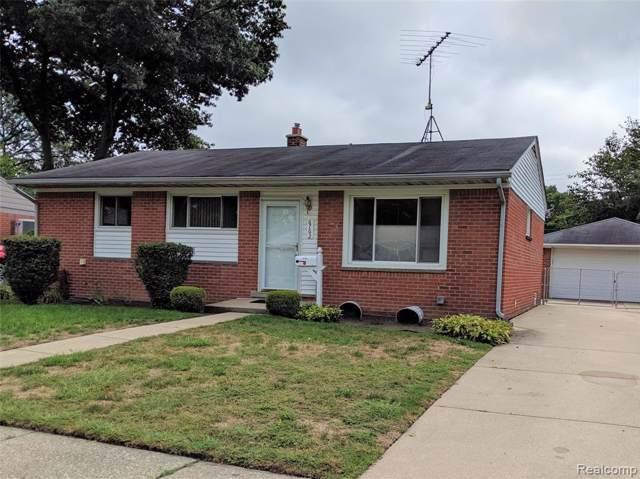 6762 Bison Street, Westland, MI 48185 (#219094904) :: The Alex Nugent Team   Real Estate One