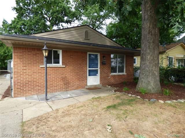 23099 Melville Avenue, Hazel Park, MI 48030 (#219095026) :: The Alex Nugent Team | Real Estate One