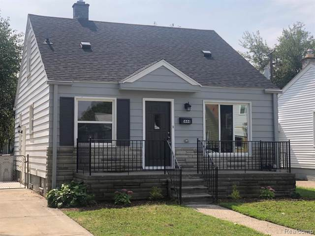 1444 E Evelyn Avenue, Hazel Park, MI 48030 (#219095033) :: The Alex Nugent Team | Real Estate One