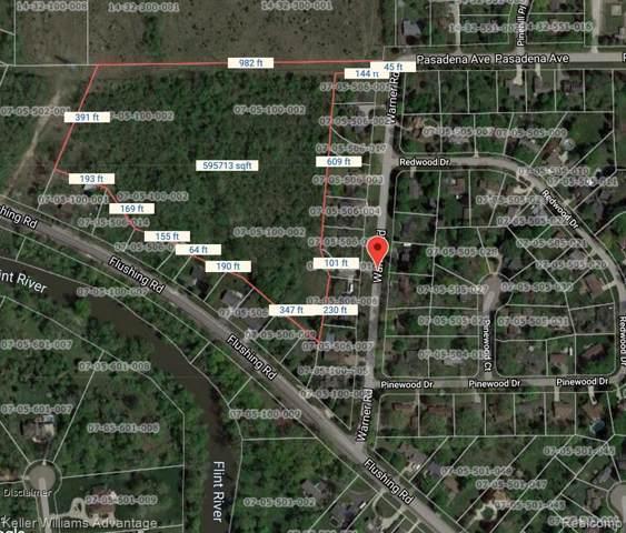 0000 Warner (11.50 Acres) Road, Flint Twp, MI 48433 (#219095117) :: RE/MAX Classic