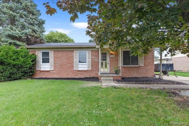 41950 Hensall Street, Clinton Twp, MI 48038 (#219095122) :: The Alex Nugent Team | Real Estate One