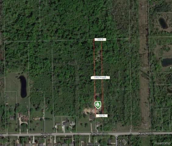 001 Kelly Road, Mt. Morris Twp, MI 48433 (#219095427) :: The Buckley Jolley Real Estate Team