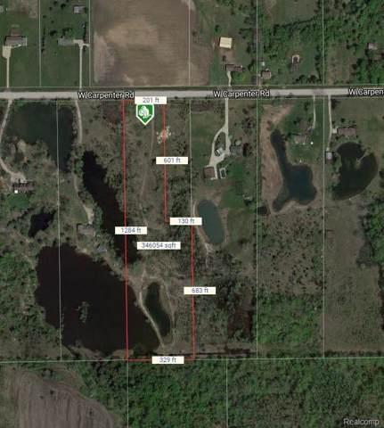 001 W Carpenter Road, Mt. Morris Twp, MI 48433 (#219095435) :: The Buckley Jolley Real Estate Team