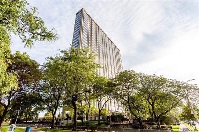 1300 E Lafayette Street #105, Detroit, MI 48207 (#219095588) :: The Buckley Jolley Real Estate Team
