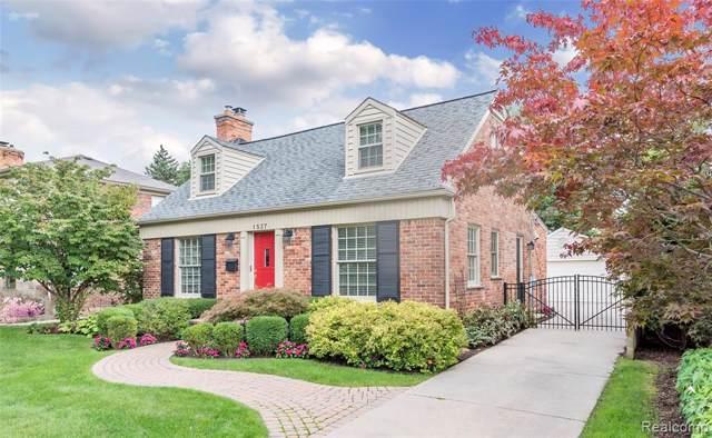 1537 Henrietta Street, Birmingham, MI 48009 (#219095674) :: The Alex Nugent Team   Real Estate One