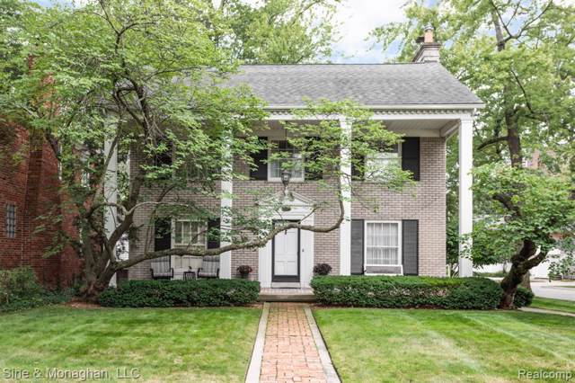1747 Littlestone, Grosse Pointe Woods, MI 48236 (#219095714) :: The Buckley Jolley Real Estate Team