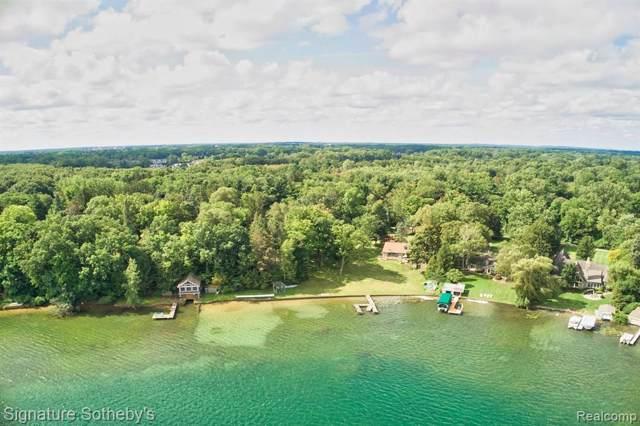 990 Lake Angelus Shores, Lake Angelus, MI 48326 (#219095742) :: The Buckley Jolley Real Estate Team