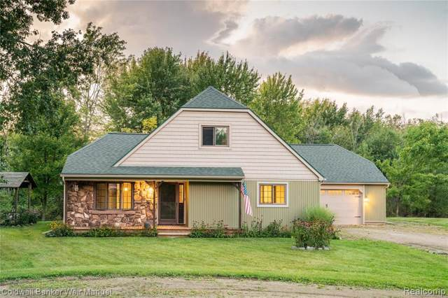 5496 Hickory Drive, Hadley Twp, MI 48455 (#219095913) :: The Buckley Jolley Real Estate Team