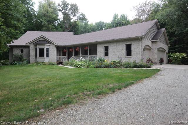 6587 Rogers Drive, North Branch Twp, MI 48461 (MLS #219096039) :: The Toth Team
