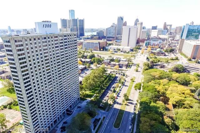 1300 E Lafayette #102, Detroit, MI 48207 (#219096055) :: The Alex Nugent Team   Real Estate One