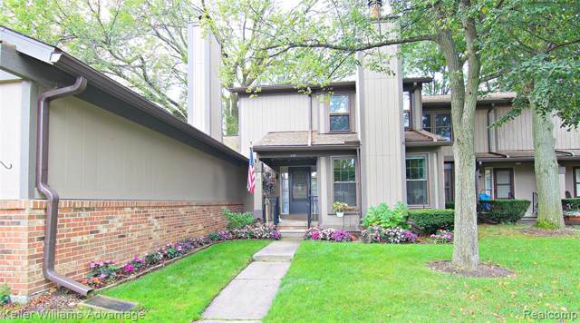 12403 Woodgate Drive, Plymouth Twp, MI 48170 (#219096133) :: GK Real Estate Team