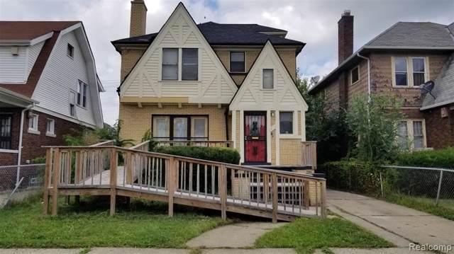 4010 Pasadena Street, Detroit, MI 48238 (#219096216) :: Team Sanford