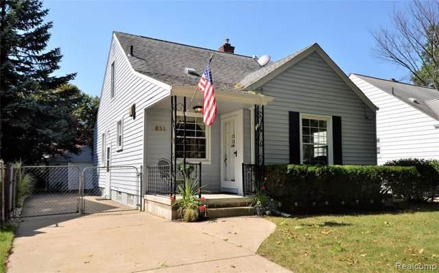 831 N Connecticut Avenue W, Royal Oak, MI 48067 (#219096270) :: The Alex Nugent Team | Real Estate One