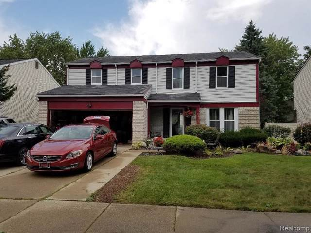 43134 Londonderry Court, Canton Twp, MI 48188 (#219096302) :: Team Sanford