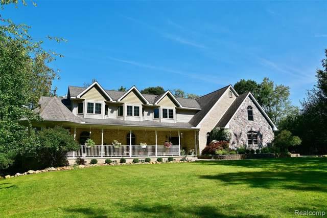 4850 Hidden Brook Lane, Webster Twp, MI 48105 (#219096332) :: The Buckley Jolley Real Estate Team