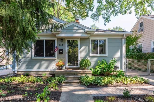 635 S Rembrandt Avenue, Royal Oak, MI 48067 (#219096499) :: The Buckley Jolley Real Estate Team