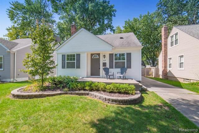 629 N Blair Avenue, Royal Oak, MI 48067 (#219096821) :: The Alex Nugent Team | Real Estate One