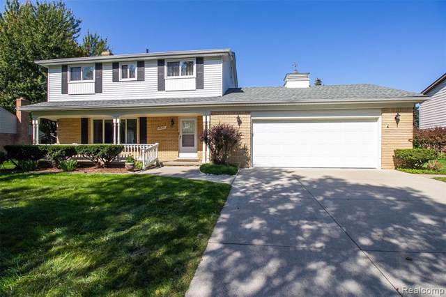 3665 Balfour Drive, Troy, MI 48084 (#219096912) :: The Alex Nugent Team | Real Estate One