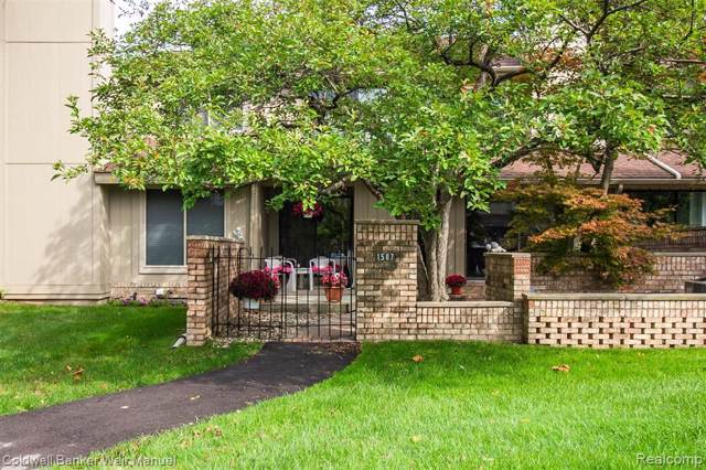 1507 S Hill Boulevard, Bloomfield Twp, MI 48304 (MLS #219096942) :: The Toth Team