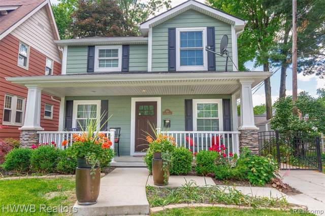614 S Rembrandt Avenue, Royal Oak, MI 48067 (#219096963) :: The Buckley Jolley Real Estate Team