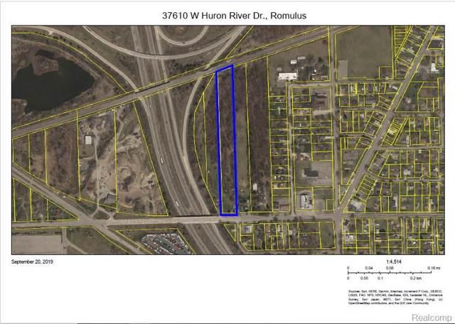 37610 W Huron River Drive, Romulus, MI 48174 (MLS #219097010) :: The Toth Team