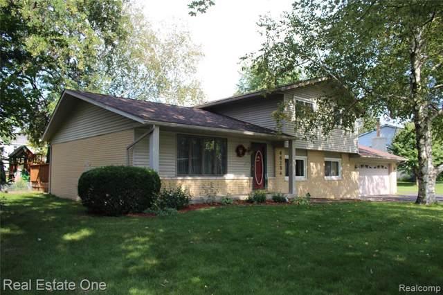 48284 Cedarwood Drive, Novi, MI 48374 (#219097036) :: Duneske Real Estate Advisors