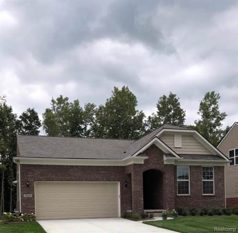 4743 West Preserve Court, West Bloomfield Twp, MI 48323 (#219097076) :: The Mulvihill Group