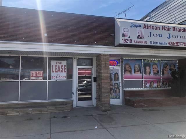 19219 W Warren Avenue, Detroit, MI 48228 (#219097099) :: Duneske Real Estate Advisors