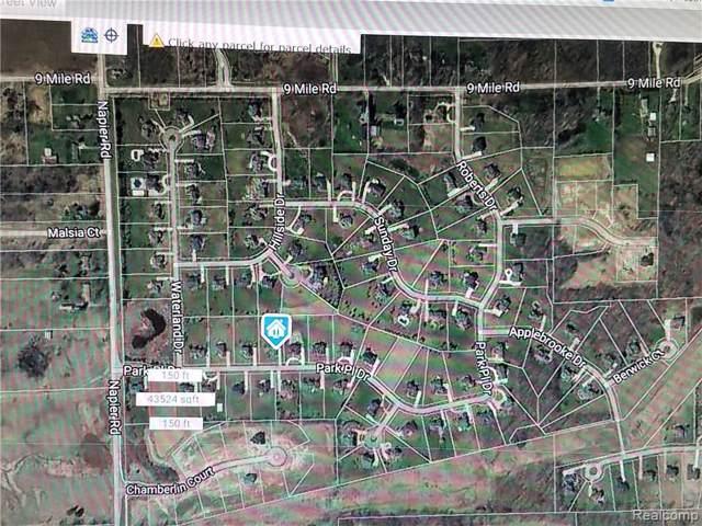 0000000 Park Place Drive, Novi, MI 48167 (#219097196) :: Duneske Real Estate Advisors