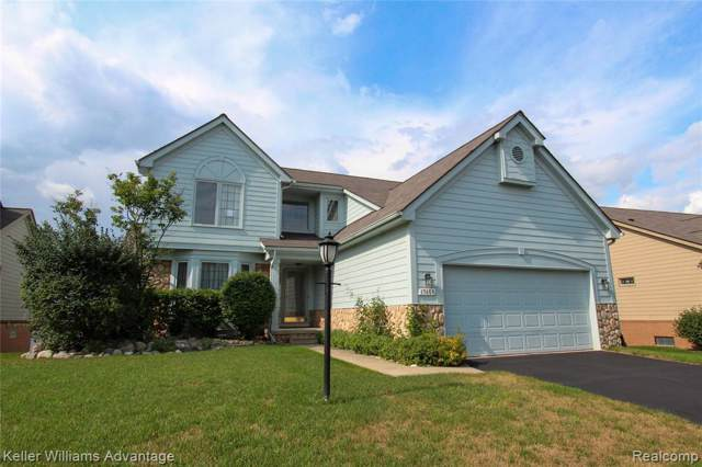 17468 Lakeview Circle, Northville Twp, MI 48168 (#219097339) :: RE/MAX Classic